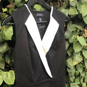Used Black and white dress